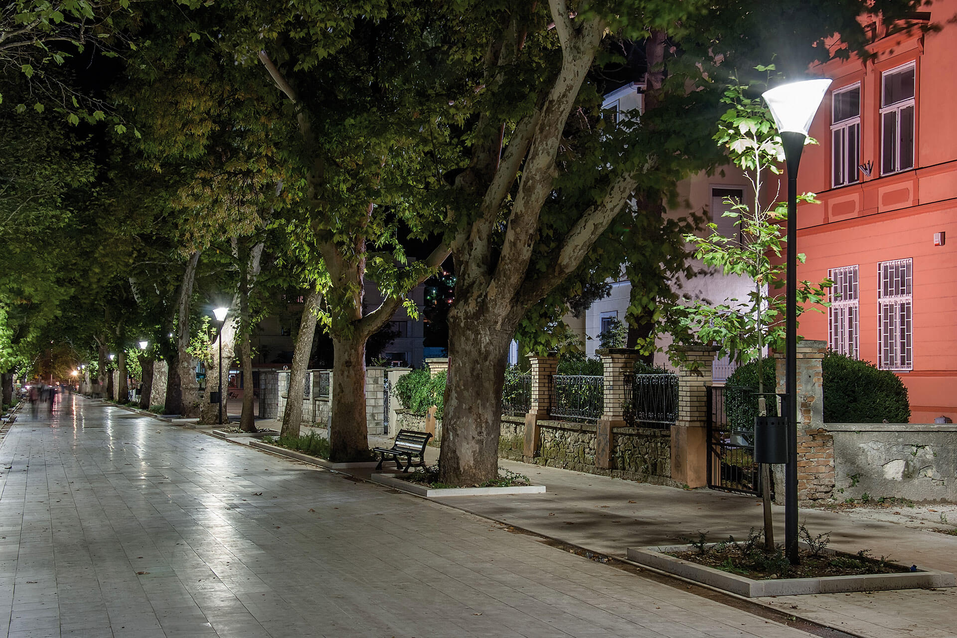 Calla LED ensures visual comfort for this pedestrian zone in Mostar