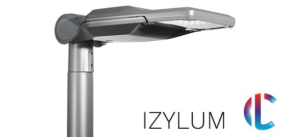 IZYLUM road lighting luminaire is designed for a circular economy