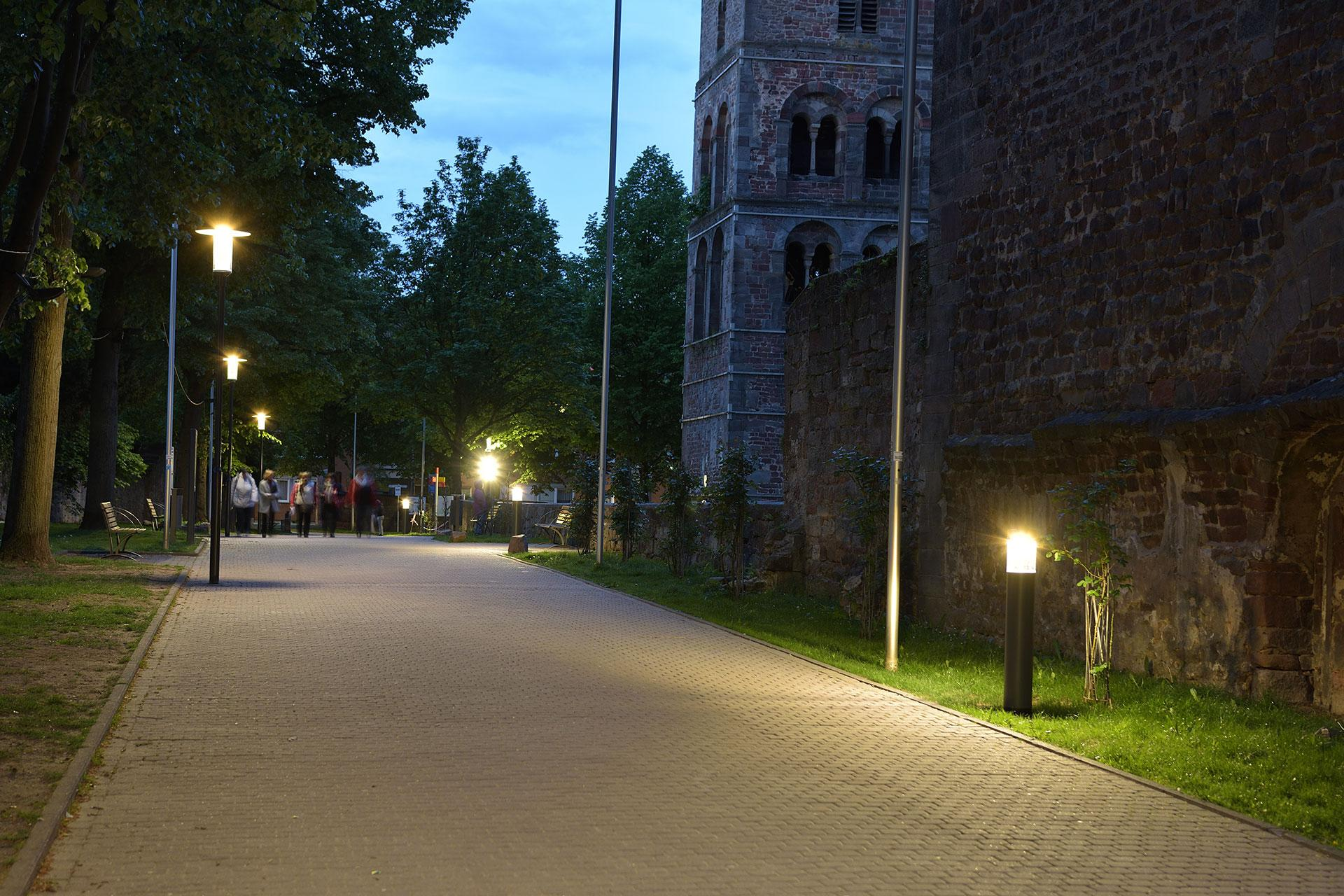 Zylindo street light improves safety and comfort for Bad Hersfeld